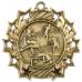 Ten Star Sport Medals